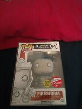 Funko Pop!: DC 2016 SDCC FIRESTORM (WHITE LANTERN) (GLOWS IN DARK) (#91)