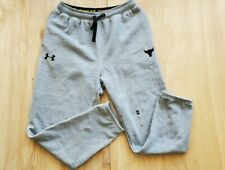 under armour the rock project Sweatpants Medium NWT
