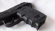 FoxX Grips, Gun Grips -Sccy CPX1 & CPX2 Grip Enhancement System Non Slip Black