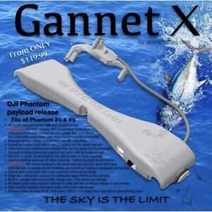 DRONE FISHING GANNET X DRONE FISHING BAIT RELEASE FOR DJI PHANTOM 3 & 4  payload