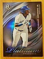 2019 Bowman Platinum Presence Prospect RC Vladimir Guerrero Jr #PP-2 Blue Jays