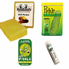 DELUXE PICKLE GROOMING GIFT PACK (4PC SET) - SOAP, BANDAGES, LIP BALM & MINTS