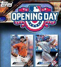 2016 TOPPS OPENING DAY 200 CARD SET RCs SEAGER SANCHEZ SEVERINO CONFORTO SANO ++