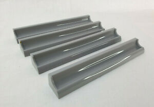 4 x Scrabble Grey Tile Holders From Spears Gamesl. Spare / replacement part