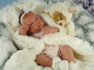 """Reborn Baby Puppe""""Betty""""Spielpuppe,Sammlerpuppe,Babypuppe,Reborn Vollvinyl"""
