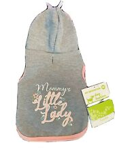 New listing Pet Supplies Plus Mommy's Little Lady Dog Hoodie Xs