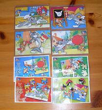 2008 Tom & Jerry kompletter Satz Superpuzzle inkl. 4 BPZ