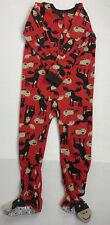 Carter's Footed Pajamas Kids 5 Moose Print