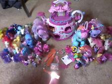 My Little Pony Teapot House Castle Tea Cup Toy + 45 vintage ponies & Accessories