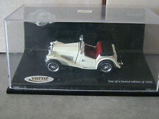 MGTC - BRITISH SPORTS CAR - VITESSE/SUNSTAR - N° 29102 - 1/43 - SERIE LIMITEE -