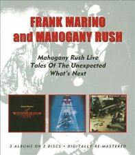 Live/Tales of the Unexpected/What's Next by Frank Marino & Mahogany Rush 2CD