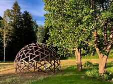 WOOD DOME (Geodesic Dome, Greenhouse) TECHNICAL DRAWINGS (4m-8m diameter)