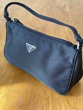 Prada Black Nylon Mini Bag
