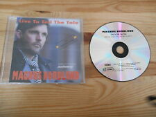 CD pop Magnus Nordlund-Live to tell the tale (1 chanson) promo audioway sc