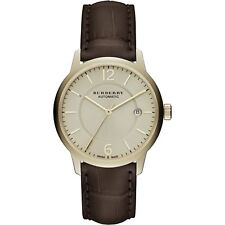 Burberry BU10302 Men's The Classic Round Swiss Made Automatic 40mm Watch