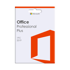 Microsoft Office 2019 Professional Plus For 1 PC - DVD Included