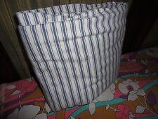 IKEA ALVINE RAND BLUE & WHITE TICKING STRIPES TWIN DUVET  62 X 76