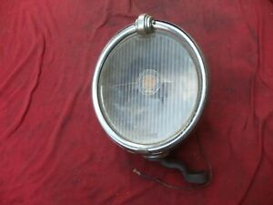 1920s-30s Trippe Safety Speed Light Fog Driving Lamp Cadillac Buick Chrysler