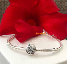 Pandora Signature Charm, Bracelet Bead, Original, New, #791414CZ