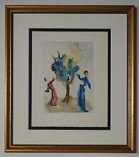 "#58 Salvador Dali - Woodcut ""The tree of Punishment"" Chant 24 - Original Divine"