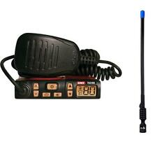 GME TX3100 UHF 80 CHANNEL 5W RADIO COMPACT RADIO+AXIS CH300 RUBBER DUCKY ANT PK