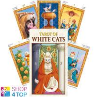 MINI TAROT OF WHITE CATS DECK-KARTEN  ESOTERIC FORTUNE TELLING LO SCARABEO NEU