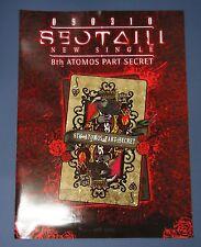 SEO TAI JI -8TH 2nd Single (Atomos Part Secret) OFFICIAL POSTER TUBE CASE