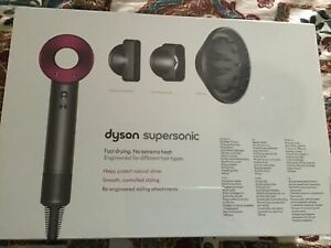 Dyson Supersonic HD01 Asciugacapelli 1600 W Grigio/Fuxia