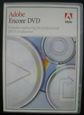 Adobe Encore DVD 1.0 Windows DVD Authoring Software. DVD only no serial number