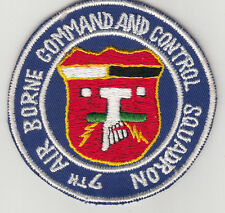 Wartime 7th Air Borne Command and Control Squadron Patch (668)