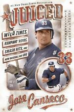 JUICED by JOSE CANSECO - Autographed/Signed Paperback-