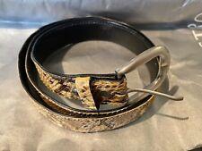 New listing Genuine Reptile Custom Leather Belt Size 38
