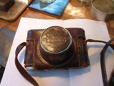 Leather camera case for Minolta Model 2 w/ 50mm lens