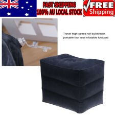 2019 Inflatable Foot Rest Travel Air Pillow Cushion Leg Footrest Relax Kids Bed