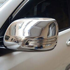 Chrome Car Rearview Mirror Cover Trim For Toyota 2700 FJ120 J120 Prado 2003-2009