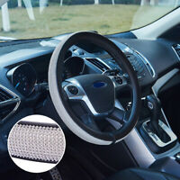 Glitter Steering Wheel Cover Diamond 38cm Universal Crystal Bling Rhinestone