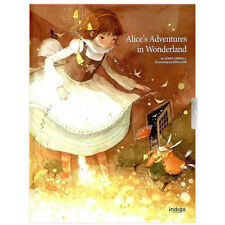 Alice in Wonderland Beautiful Illustrated Classic Story Hard Cover English Book