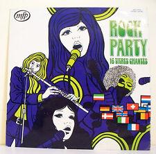"""33T ROCK PARTY Disque Vinyle LP 12"""" 16 TITRES CHANTES - MFP 5629 Frais Rèduit"""