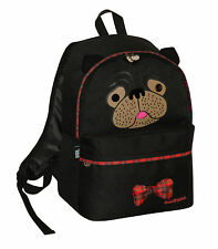 DAVID AND GOLIATH - YOU SO PUGLY SCHOOL BACKPACK - BLACK