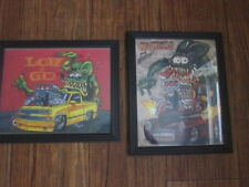 Two Framed Hot rOd monster rat fink Reprints Copy check it out