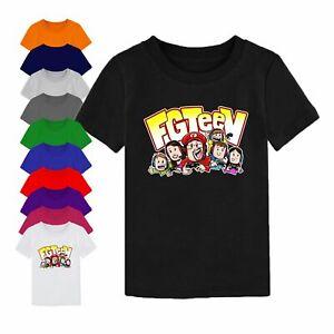 FGTEEV T Shirt Gurkey FUNnel Vision Family Gaming Team Christmas Gift Kids Top