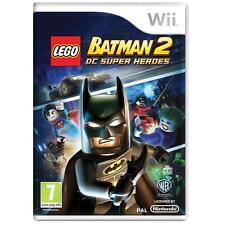 Nintendo Wii PAL version Lego Batman 2 DC superheroes