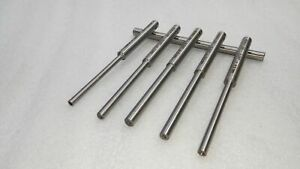 """6 x Neway Valve Guide Pilots for 100 Series Cutter 296"""" top 4,4.5,5,5.5,6,6.5 MM"""
