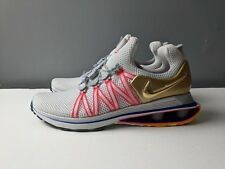 Brand New Nike Shox Gravity Mens Olympic Shoe Size 7 Vast Grey Metallic Gold