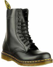 Original Dr Martens 1490 Black 10 Hole Eyelet Unisex Boots UK 9