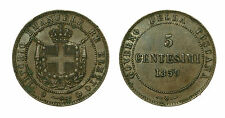 pcc1631_3) Savoia - Vittorio Emanuele II re Eletto (1859-1861) 5 Centesimi 1859