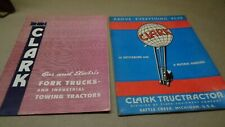 Vintage 1940s Clark Sales Guides Brochures Literature