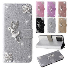 Angel Folio Leather Wallet Case Cover For Samsung J3 J4+ J5 J6 J7 J8 Note 9 20