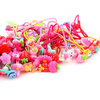 Hot 10Pcs Baby Girls Hair Band Ties Rope Ring Elastic Hairband Ponytail Holder