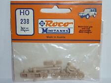 ROCO MINITANKS 238 H0 MOTORRAD BMW R 75 + BEIWAGEN MOTORCYCLE + SIDECAR 1:87 NEU
